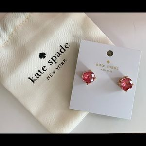kate spade Jewelry - KATE SPADE GUMDROP STUD EARRINGS (NWT)